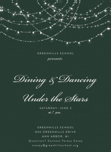 Dining and Dancing 5x7 DB-1