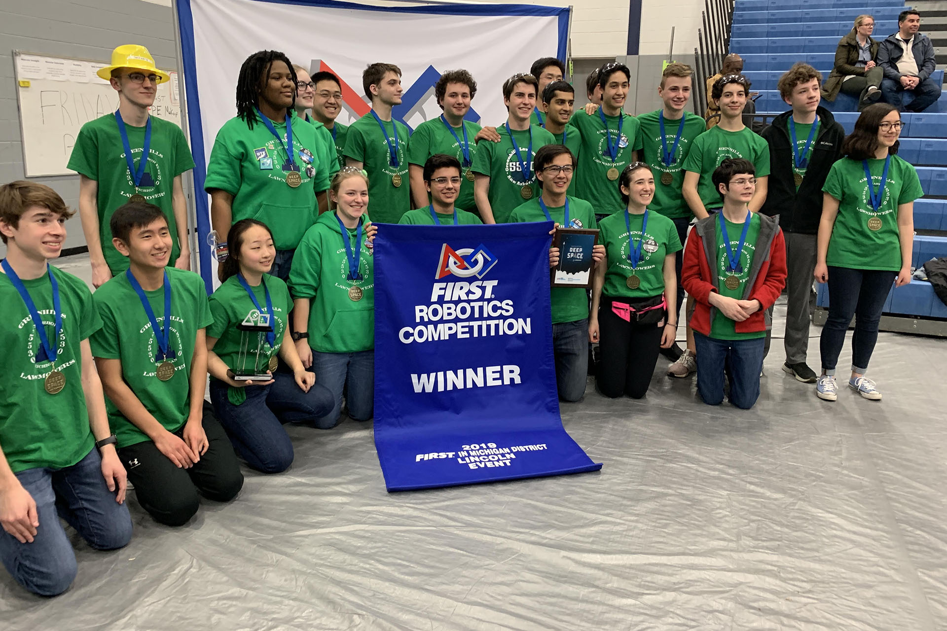 Greenhills Lawnmowers Robotics Team FRC